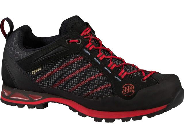 Hanwag Makra Low GTX - Calzado Hombre - rojo/negro
